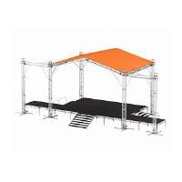 Сцена 10х6 с крышей, задником и порталами